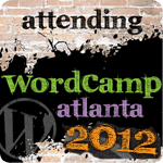 attend wordcamp badge