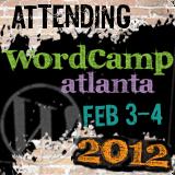 Attending WordCamp Badge