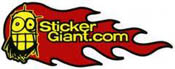 sticker giant logo