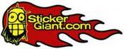 sticker giant logo