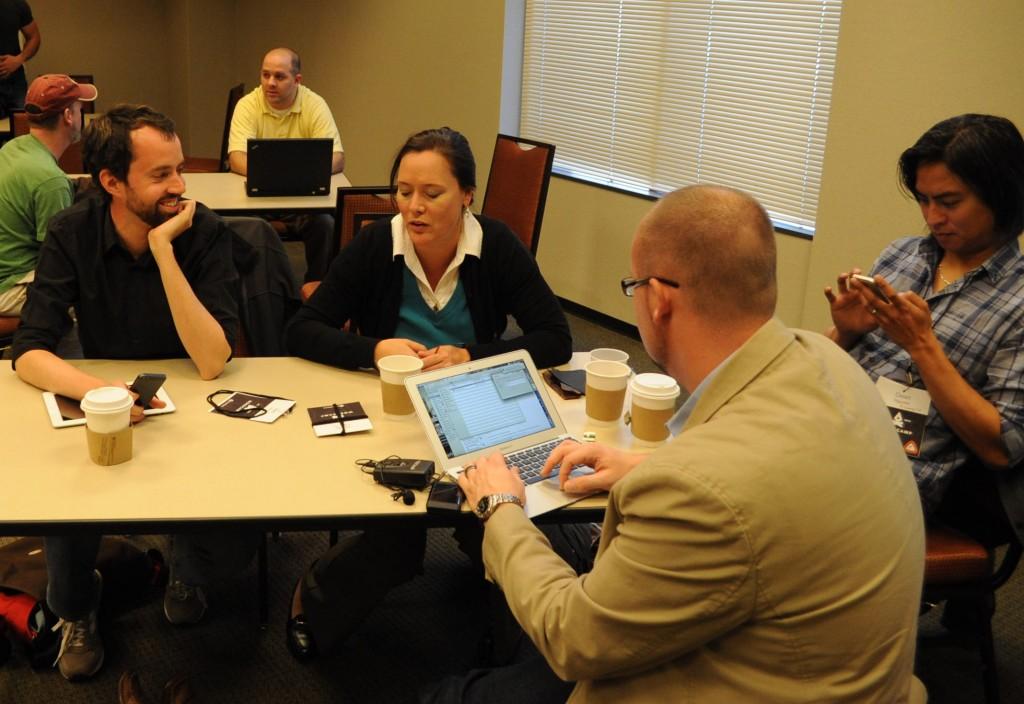 Cody Benson and GSU migration team.