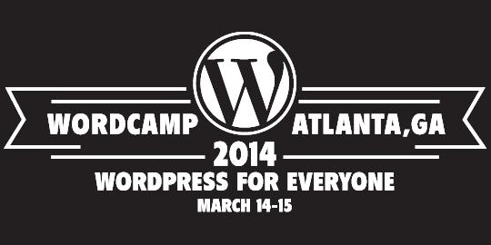 WordCamp Atlanta 2014 Logo