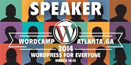 WordCamp 2014 Speaker