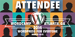 WordCamp Atlanta, WordCamp 2014, WordPress Camp Atlanta 2014​