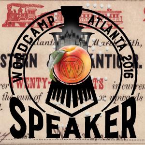 WordCamp Atlanta - Speaker