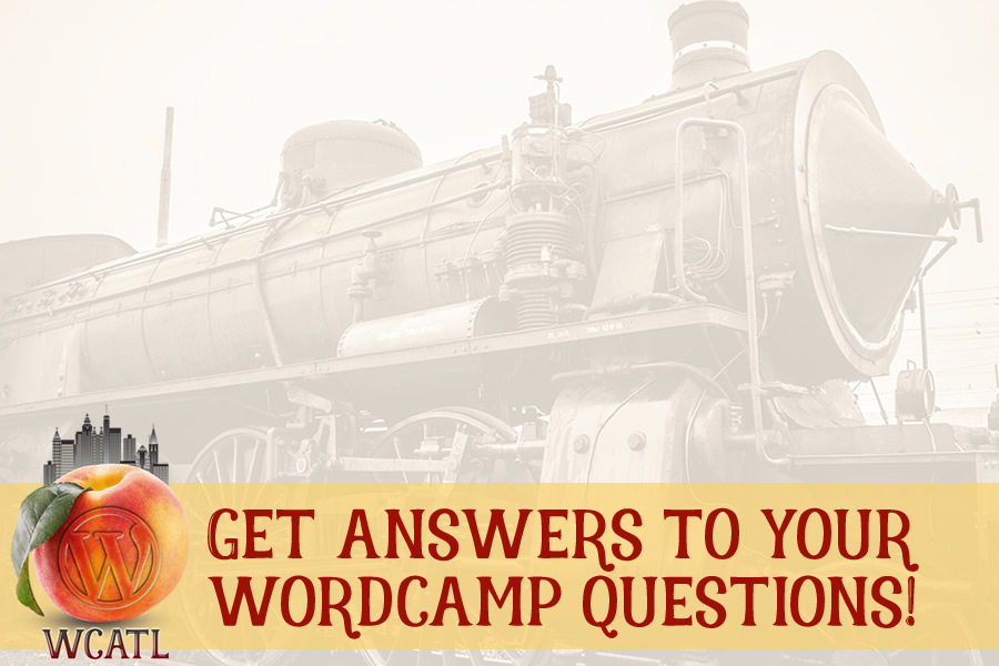 Getting Answers To Your WordCamp Atlanta Questions